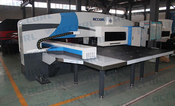 30 Ton Servo Drive CNC Turret Punch Press