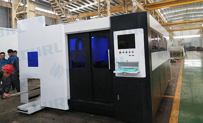 4KW IPG Fiber Laser CNC Stainless Steel Cutting Machine