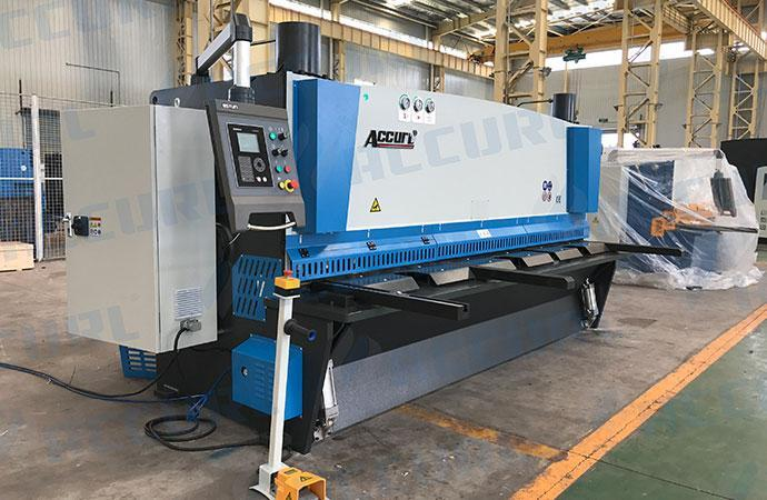 CNC Hydraulic Guillotine Shear with Pneumatic Sheet Support System
