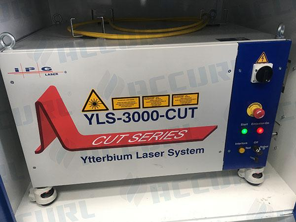 IPG YLS-6 kW Laser power from Germany