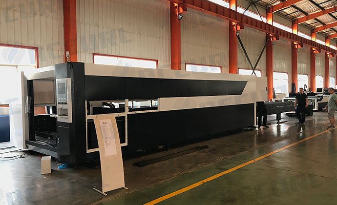 Large Format 6KW IPG Fiber Laser CNC Metal Cutting Machine